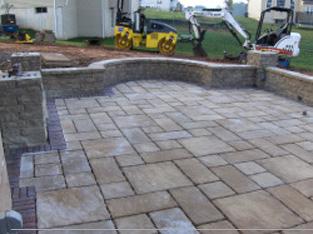 brick patio paver stones