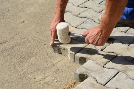 Patio Paver Installation