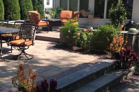Tiered Patio
