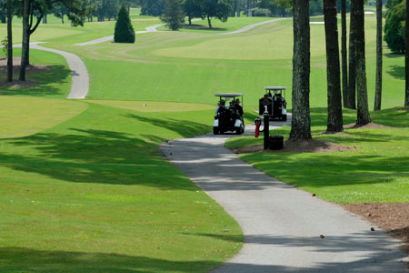 Golf Course Sealcoating