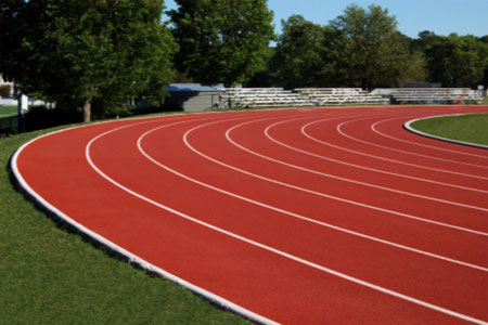 Paved Athletic Track