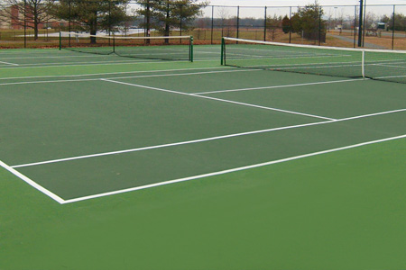 Tennis Court Paving