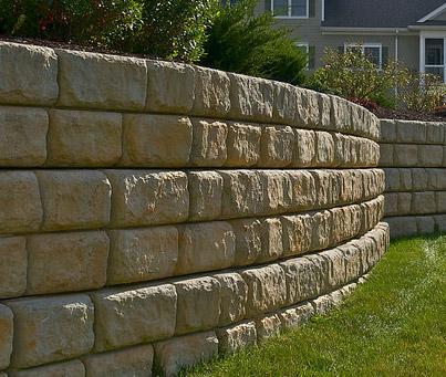 Concrete Services - Concrete Retaining Wall