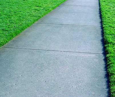 Concrete Services - Concrete Sidewalks